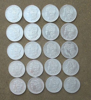 ORIGINAL ROLL 1891-S MORGAN SILVER DOLLARS..  CH/GEM BU https://t.co/KIzD8TLx6t https://t.co/dW9UMQ6YGB