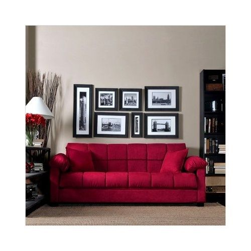 Love The Red Couch In 2019 Red Sofa Red Couch Living