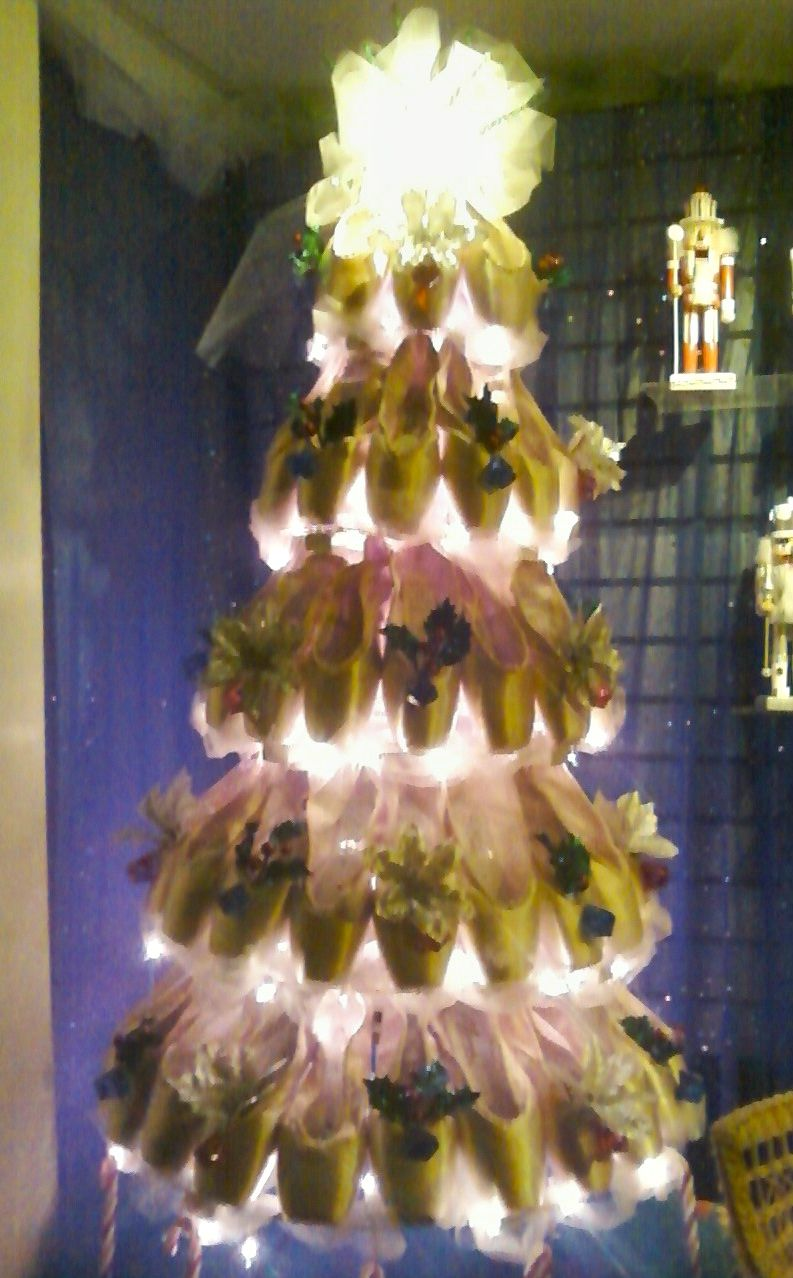 Pointe Shoe Christmas Tree