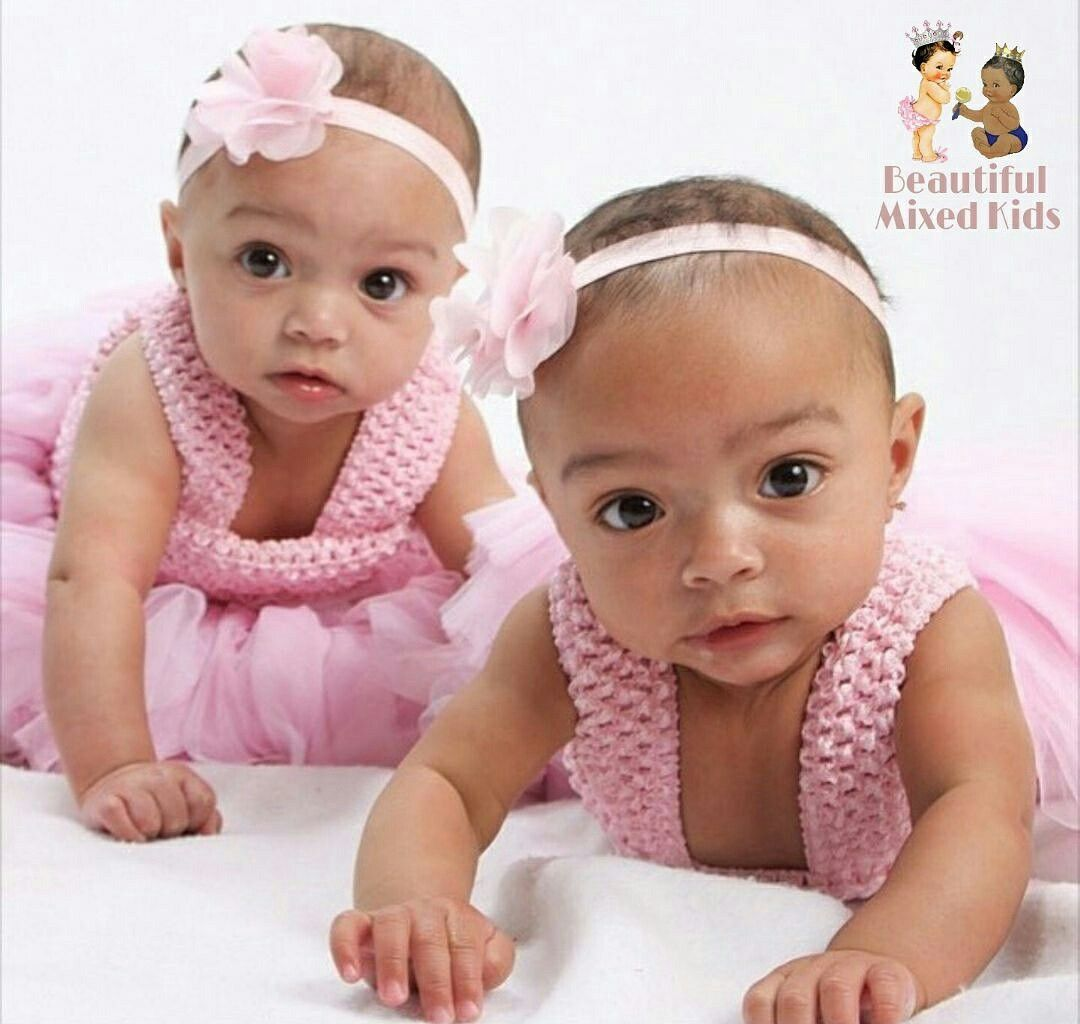 Olivia Amp Nadia 5 Months Jamaican African American