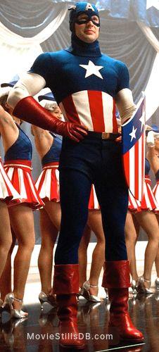 Captain America: The First Avenger - Publicity still of Chris Evans