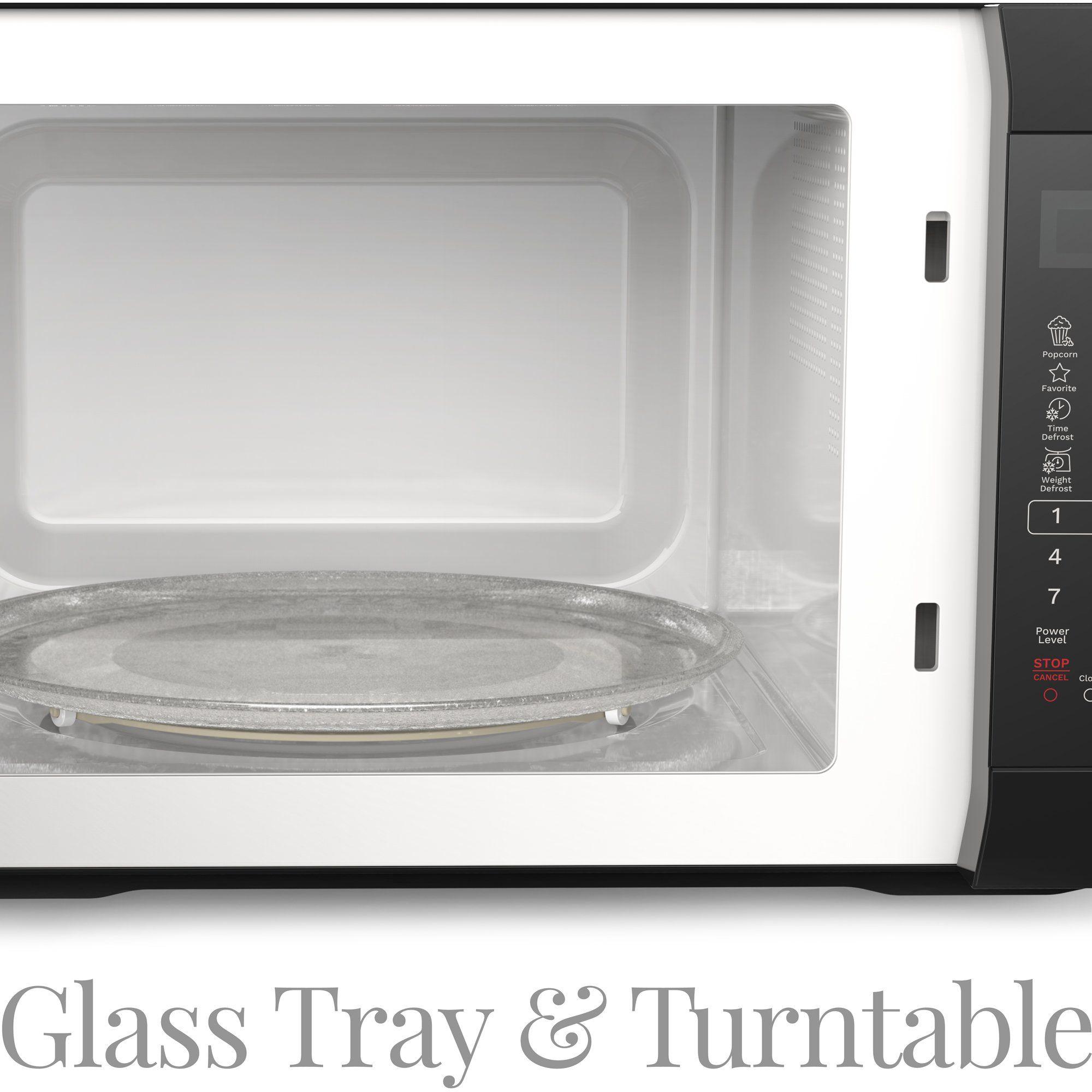 Homelabs 1050 Watt Countertop Microwave Oven With Accessories