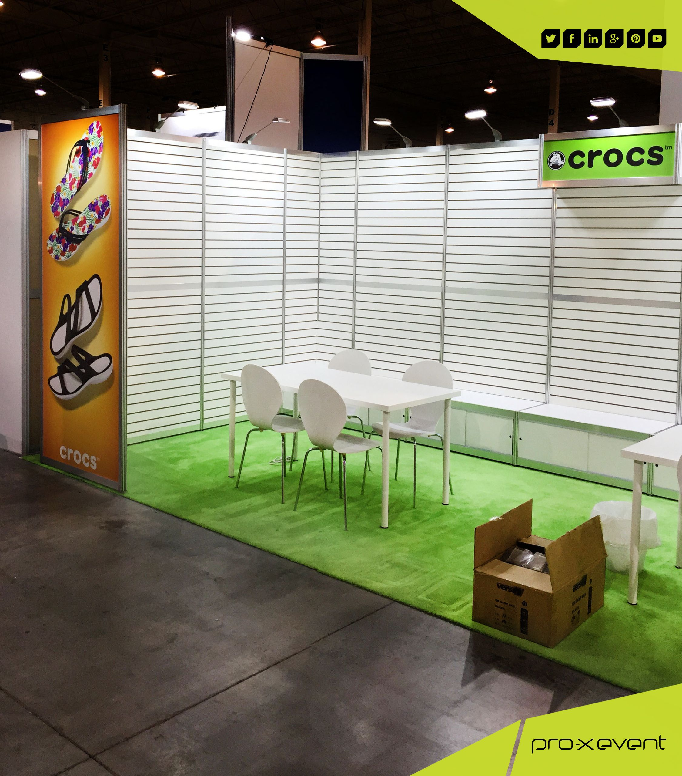 To A Great Exhibit Display We Designed And Built For Crocs At The