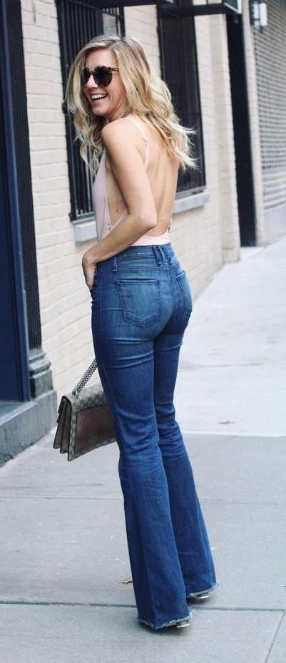 527954eb128084 How to wear high waisted jeans? If you want to style your pair of high-waisted  jeans modern and like a pro, then look no further.