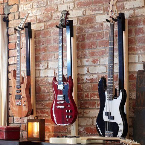 Light Your Guitar Mount Guitar Room Guitar Display