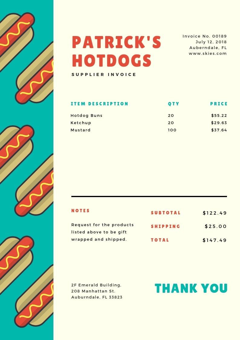 Invoice Design 50 Examples To Inspire You Learn In 2020 Invoice Design Invoice Template Word Invoice Template