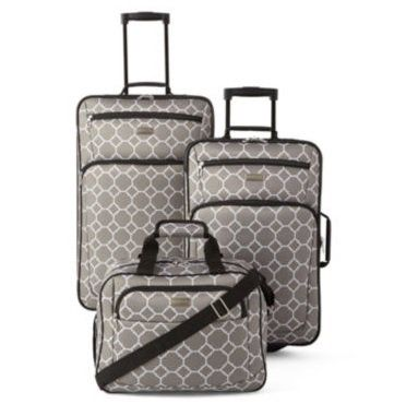Protocol Richardson 3 Pc Luggage Set 59 99 Cyber Monday Jcpenney Luggage Sets Luggage Jcpenney