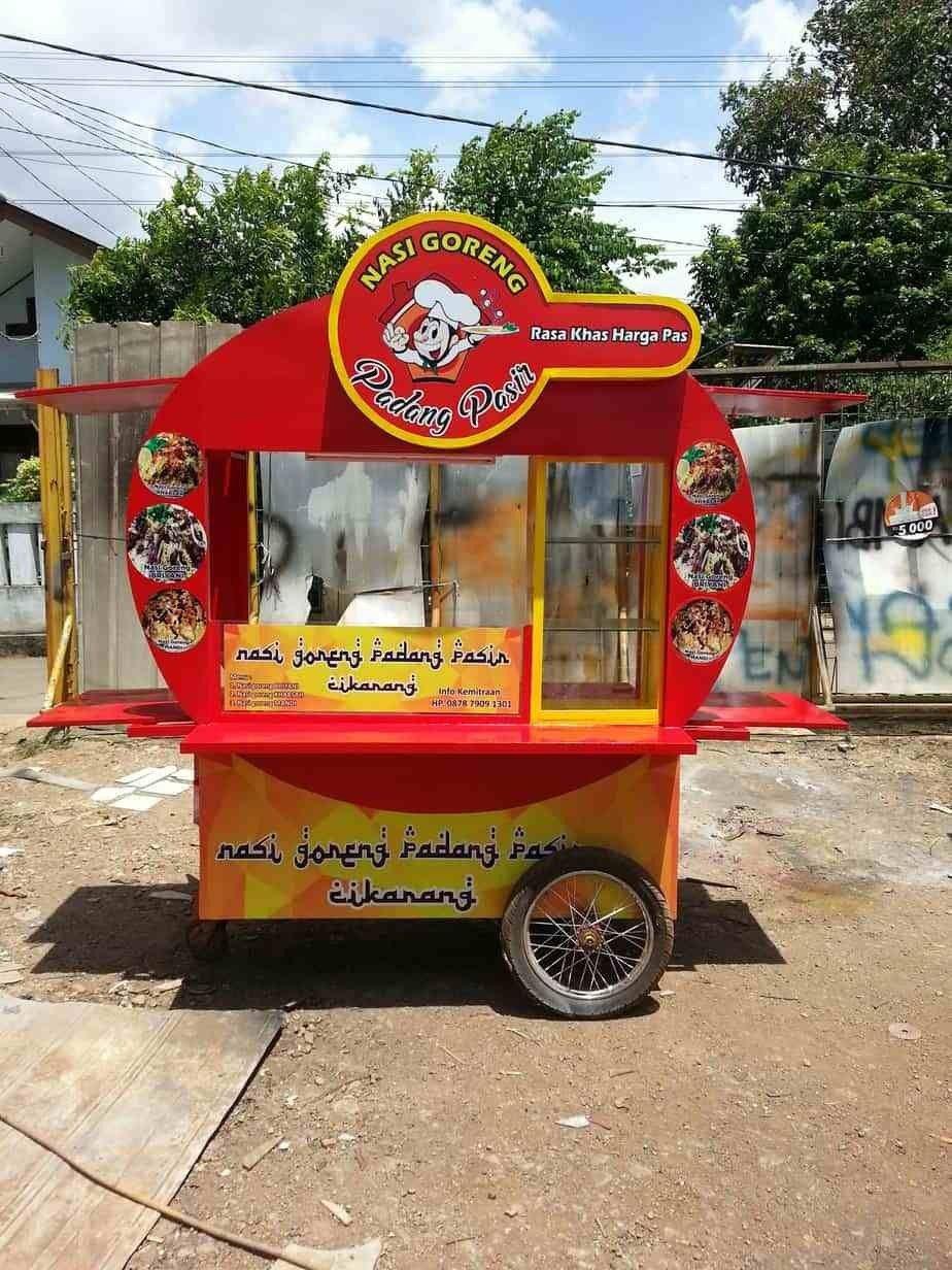 Desain Gerobak Martabak : desain, gerobak, martabak, Reklame, Indonesia, Reklame,, Desain,