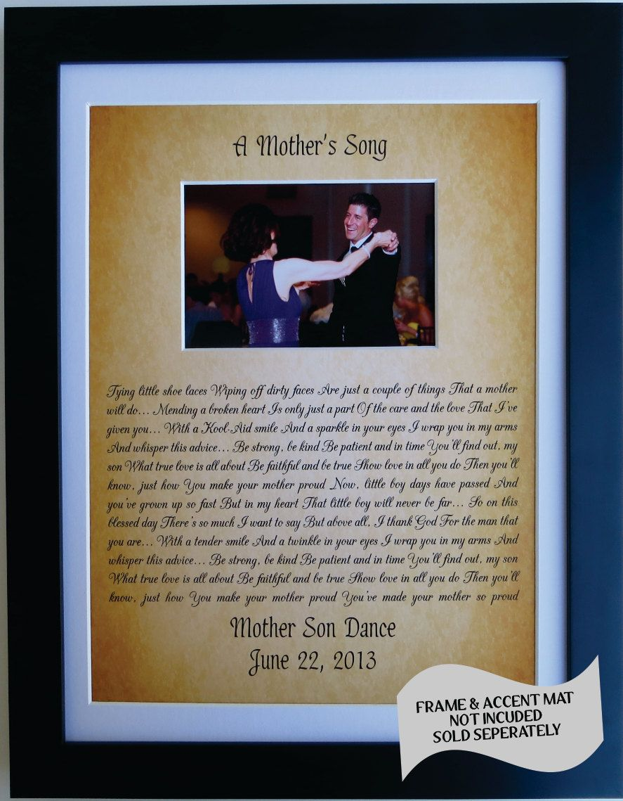 Personalized Gift For Son From Mother To Groom From by Picmats ...