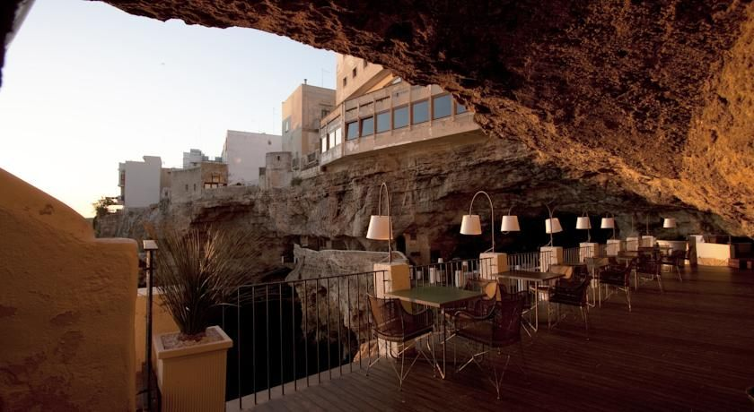 Booking Hotel Grotta Palazzese Polignano A Mare Italy 92 Guest Reviews Book Your Now