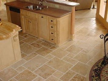 Flooring : Kitchen Tile Floor Design Ideas Kitchen Tile Floor Ideas  Porcelain Tiles Porcelain Floor Tile How To Tile A Bathroom Floor also  Floorings
