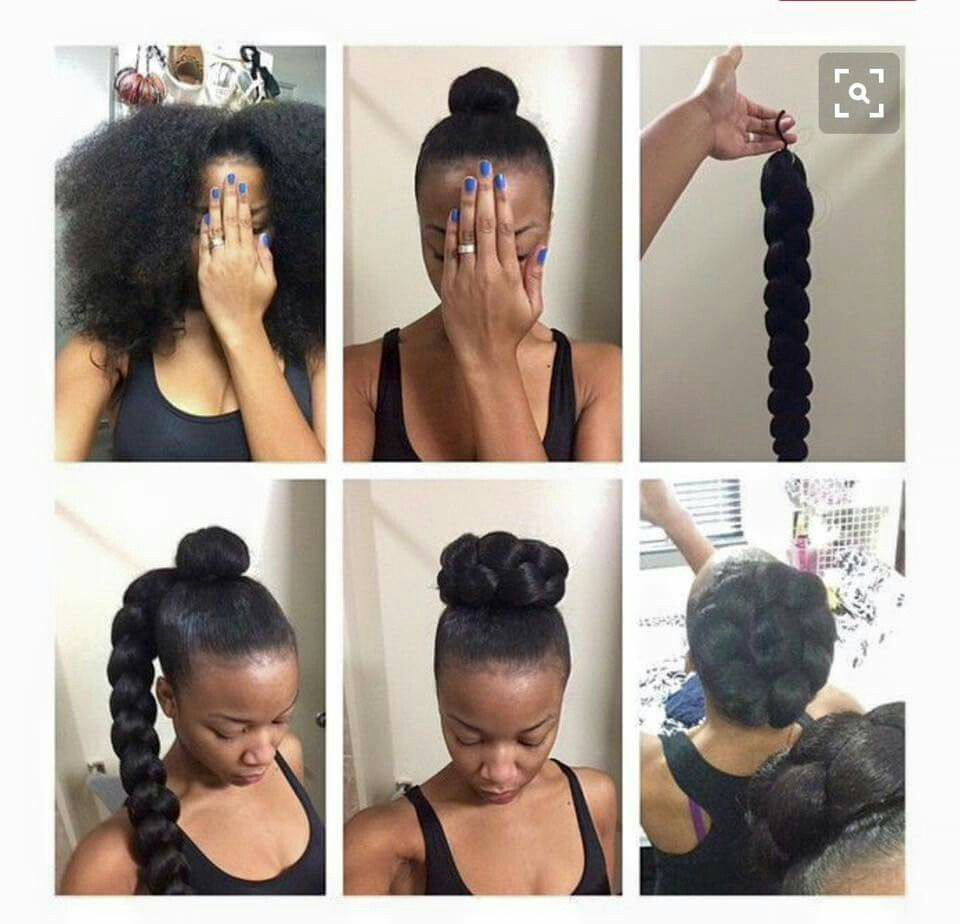 Natural Hair Protective Style Hairstyles To Try Pinterest