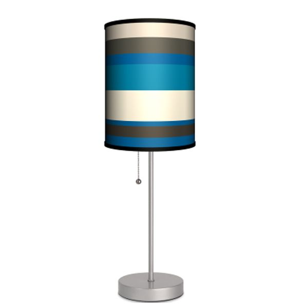 Stripes Blue Lamp | FREE SHIPPING
