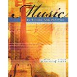 music in theory and practice vol 1