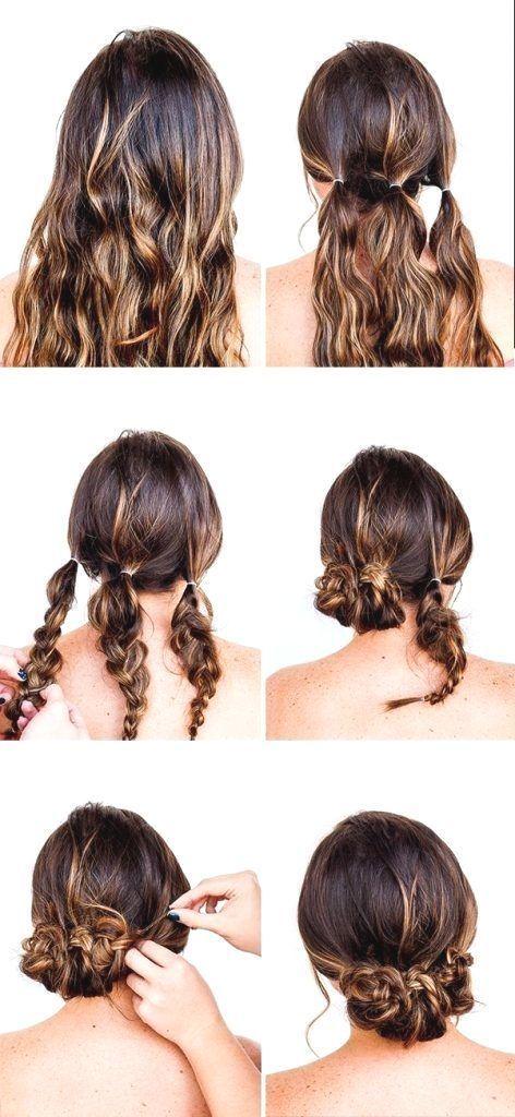 65 Peinados Recogidos fáciles hermosos y elegantes [Paso a paso] con trenzas mo…