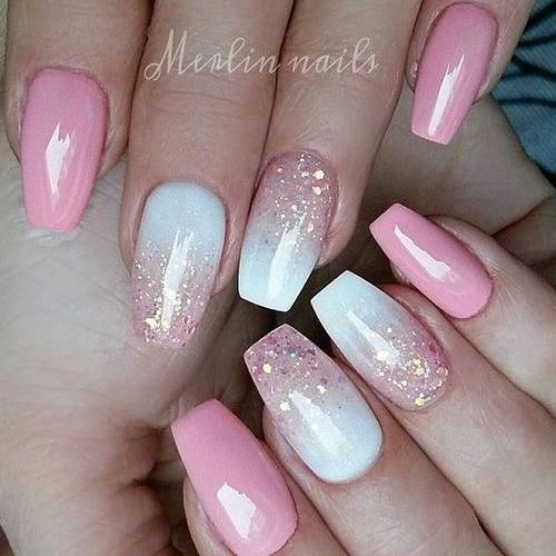 47 Most Amazing Ombre Nail Art Designs Prettynails Pink Nails Nail Art Ombre Ombre Nail Art Designs