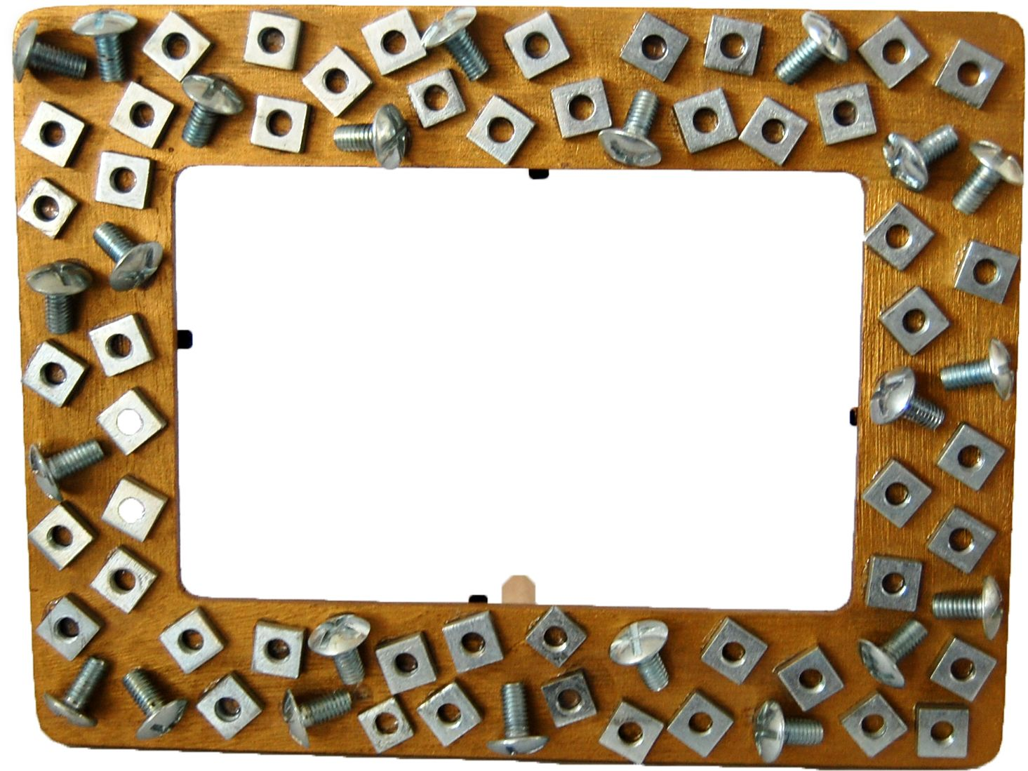 Make your own nuts and bolts picture frame photo frame. We sell ...