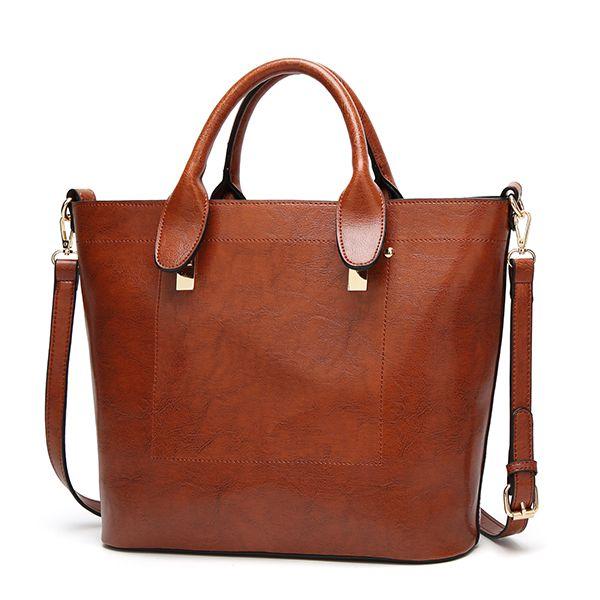 e1b0cb8e056 Woman · Hot-sale designer Women PU Leather Handbag Elegant Tote Bag  Crossbody Bag Online - NewChic