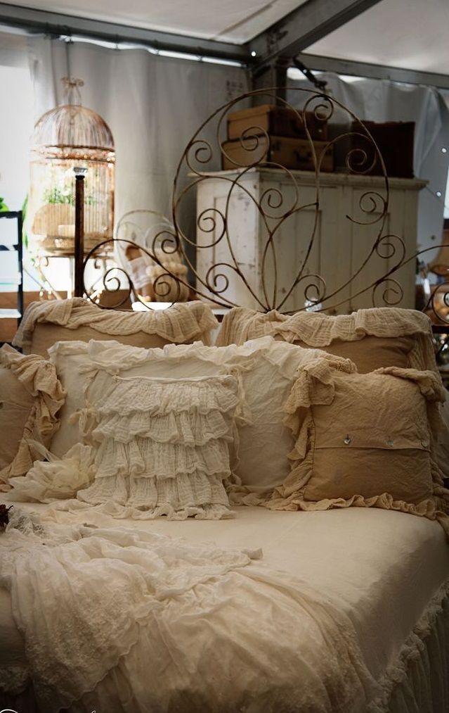 7 idee per un letto in ferro in stile Shabby Chic