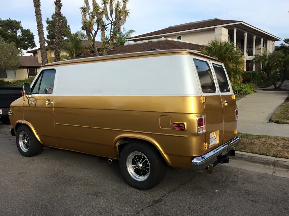 Chevy Van Chevy Van Gmc Vans Custom Vans