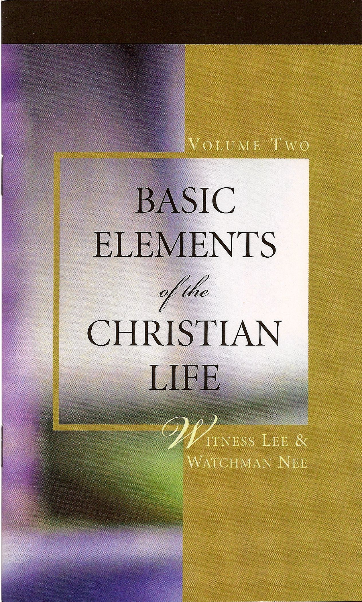 The central matter of the Christian life is to know Christ Himself. For this we need to contact and experience Him in a living way day by day. This daily experience includes proper spiritual food, regular spiritual worship, and deep spiritual growth, which are discussed in this volume.