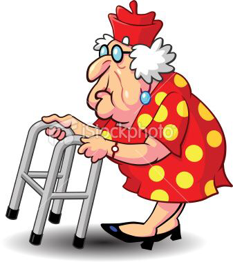 337x380 Old People And Their Walkers Old Lady Cartoon Old People Cartoon Cartoon Clip Art