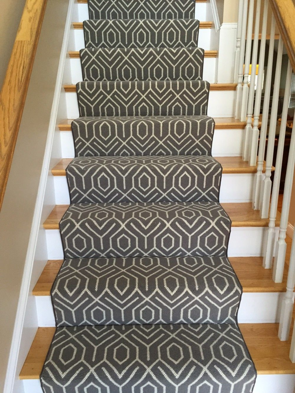 Stair Runner Carpet At Lowes Stair Runner Carpet Carpet Stairs   Carpet For Stairs Lowes   Hard Wearing   Traditional   Dean Wrap Around Treads   Pattern   Textured