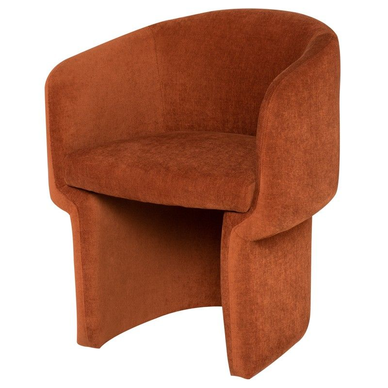 Clementine Dining Chairs Fabric Dining Chairs Upholstered Arm Chair