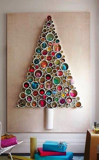 56 Diy Christmas Tree Crafts Ideas Arbol De Navidad Original Arbol De Navidad Alternativo Arboles De Navidad Creativos