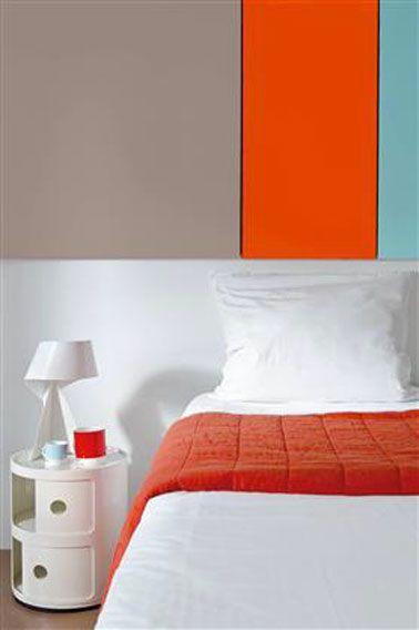 Les couleurs de chambre adulte tendance