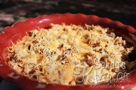 "Mexican Chicken and Cauliflower ""Rice"" Casserole"