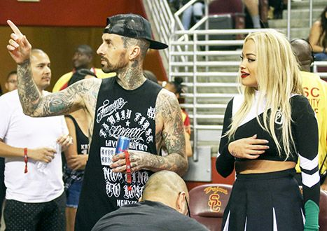 Rita Ora and Travis Barker have reportedly become inseparable after dating for just over one week. | news online