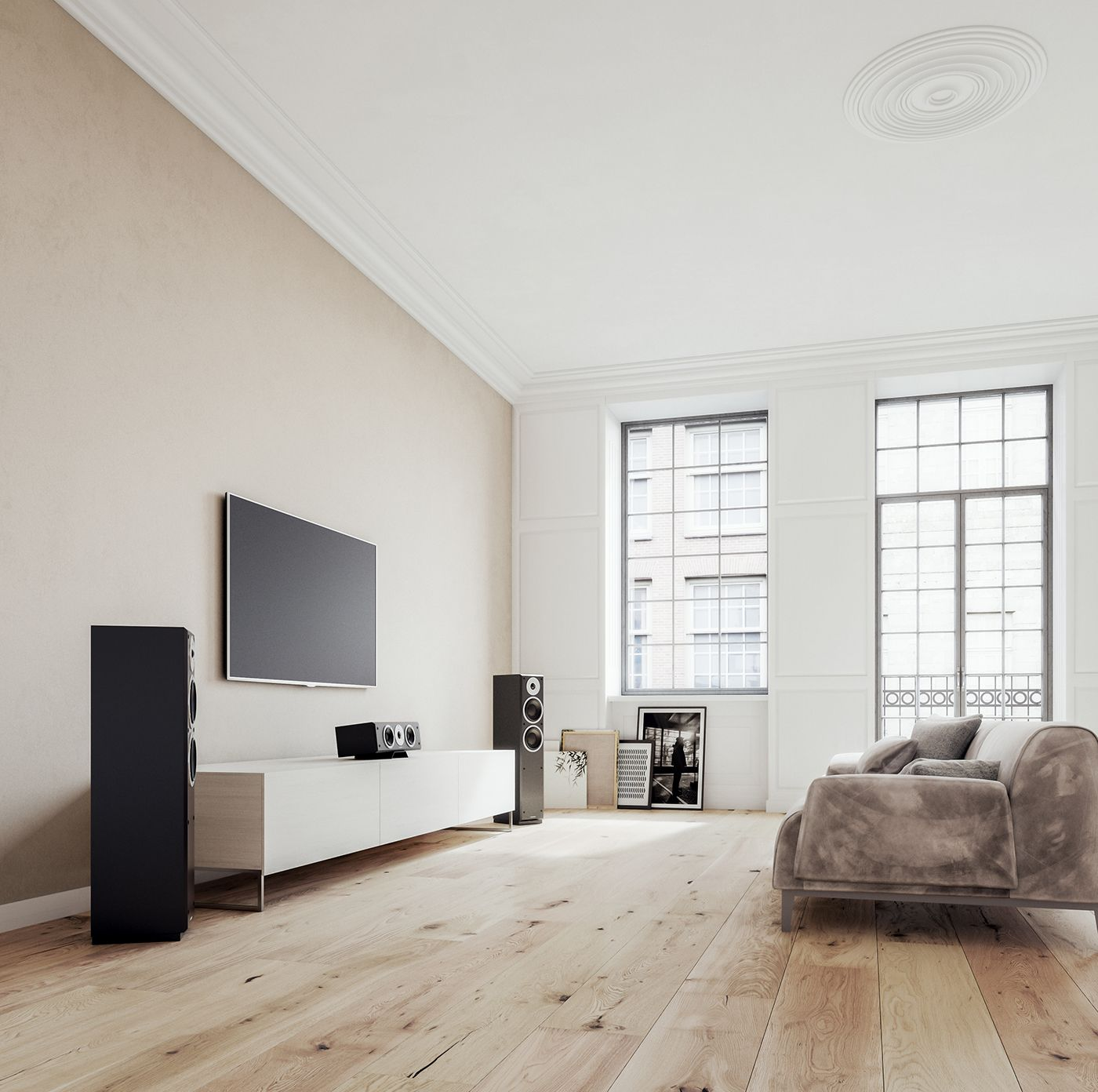 Interio Sofa Utopia Dynaudio Emit Series Hi Fi Speakers Home Theatre On Behance