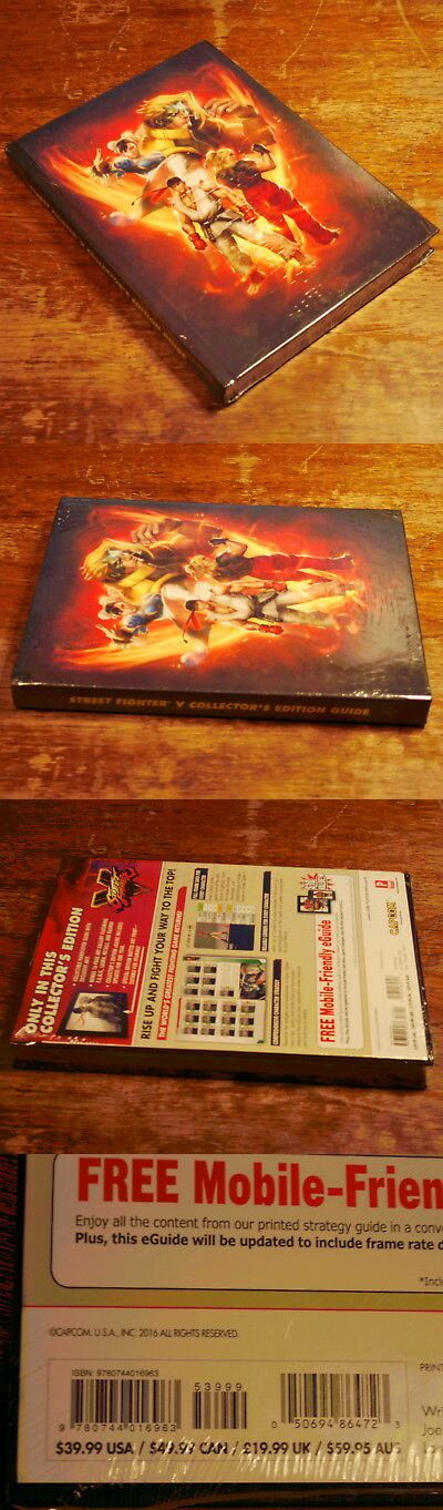 Strategy Guides And Cheats 156595 Street Fighter V Strategy Guide
