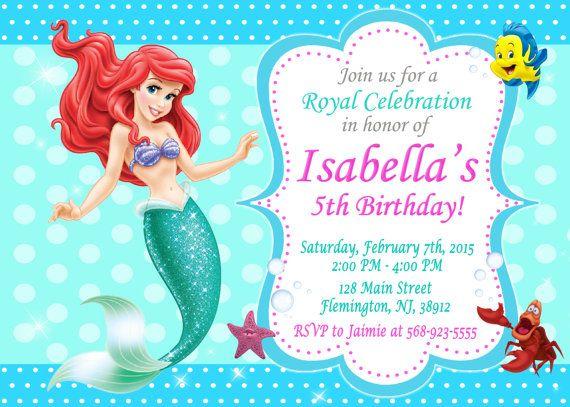 Fiesta De Cumpleaños De Invitación De Invitación Por