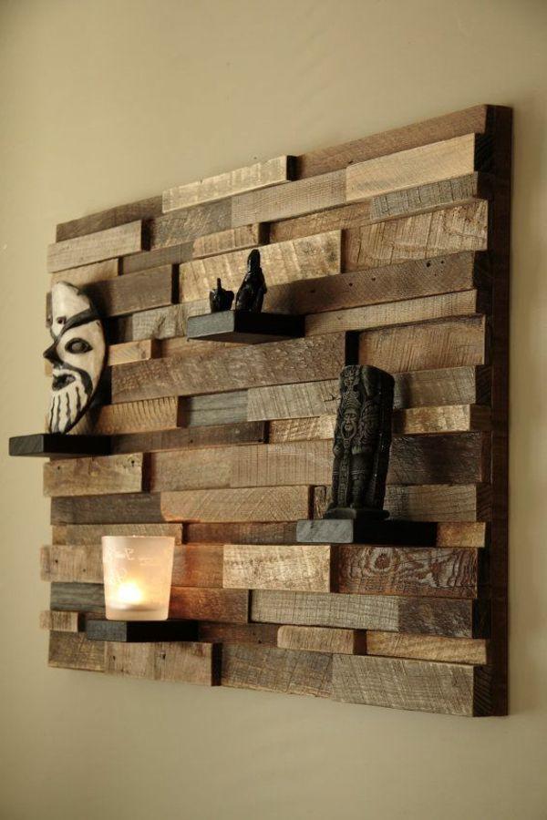 Wandart Kreative Wandgestaltung Wanddeko Holz Dekor Und