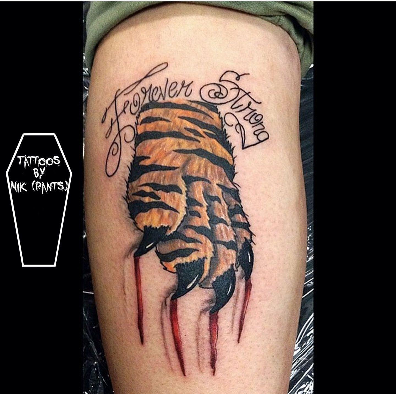Pin On Tiger Scratch Tattoo