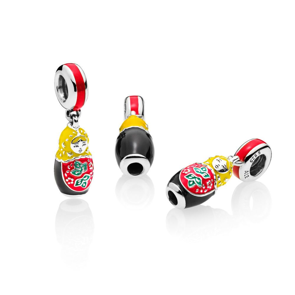 990a2685e Pandora Matryoshka Doll Charm, Mixed Enamel | ...My Pandora *Wish ...