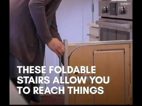 Great Idea For Increasing Accessiblity To High Cabinets