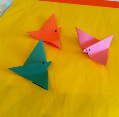 origami song birds � day 10 national craft month march