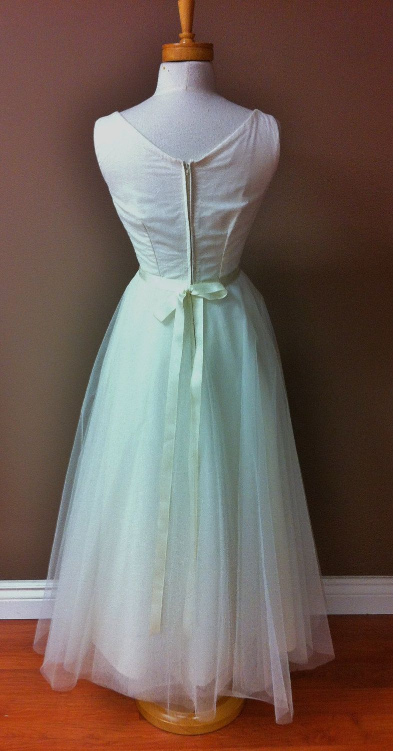 Magnificent 1950s Vintage Wedding Dress Ensign - All Wedding Dresses ...