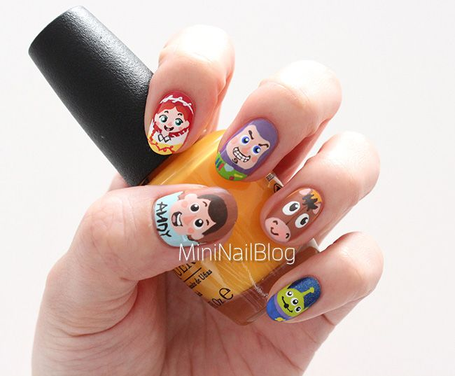 Toy Story Nail Art Video | nailbees | nails | Pinterest | Toy story ...