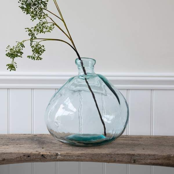 Grünanlage Trading-Wells Bubble Vase Breit Breit Glas Riciclato  The post Garte…