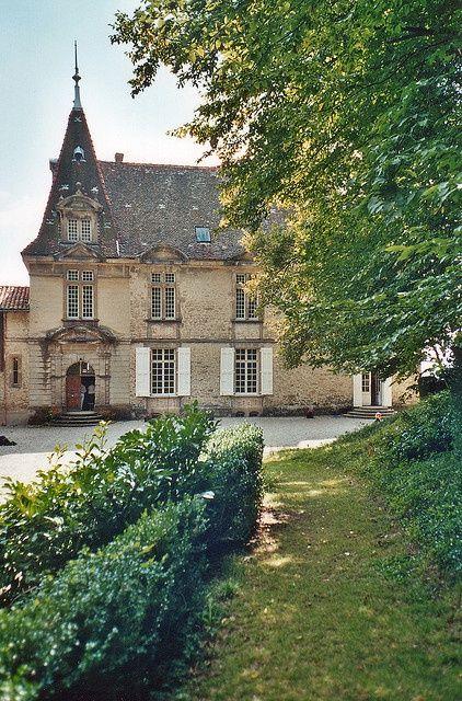Chateau De Bresson Moissieu Sur Dolon Isere France French