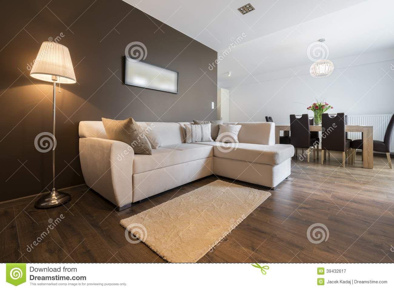 Modern Interior Design Apartment Stock Image Image Of Clean