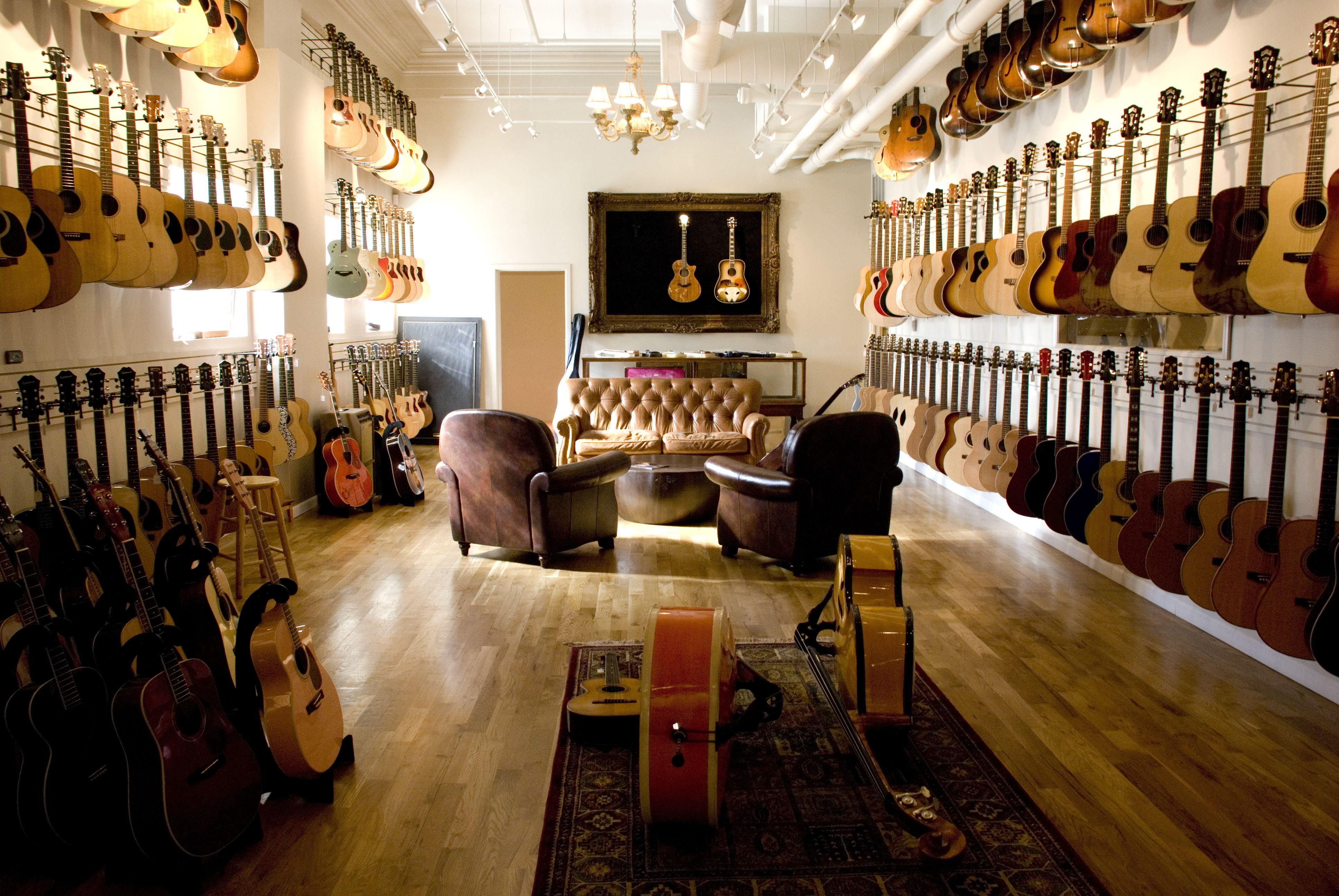 acoustic heaven chicago music exchange illinois us by rick goltowski nickelodeon guitar. Black Bedroom Furniture Sets. Home Design Ideas