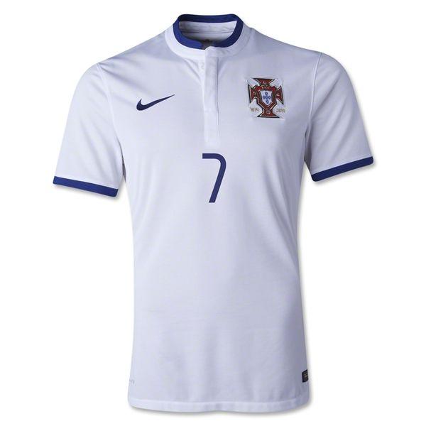 free shipping d5858 68e16 2014 FIFA World Cup Portugal Cristiano Ronaldo 7 Away Soccer ...