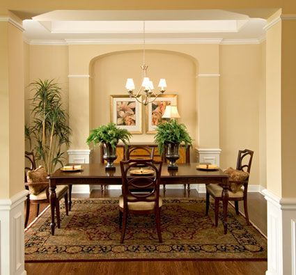 earthy dining room wall colors - Google Search | House- Dining Room ...