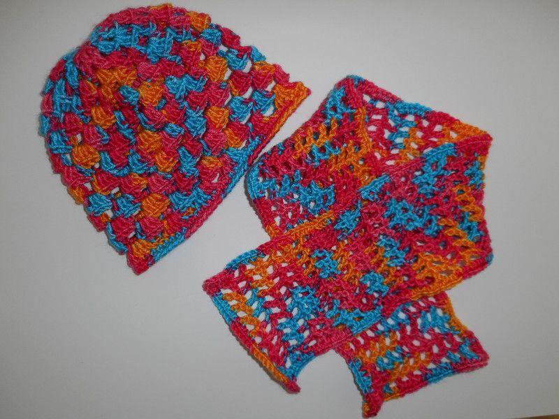 Babymütze und Schal Set 0-6 Monate | Produkte und Handarbeit