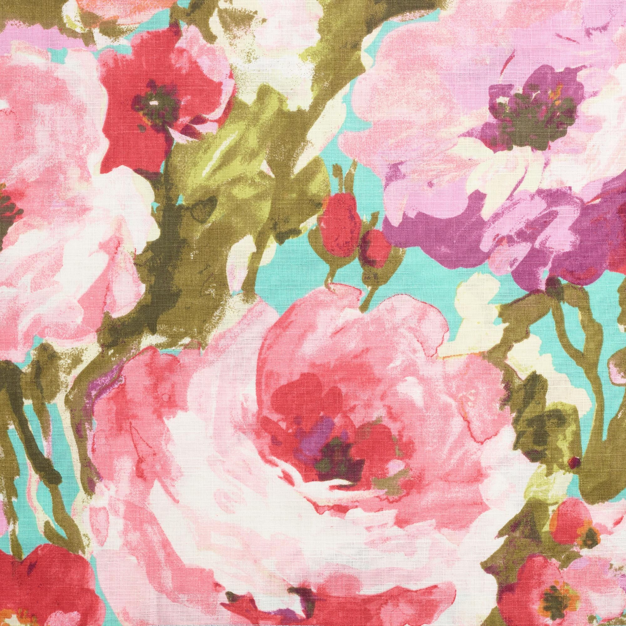 A Vibrant Floral Design With Whimsical Watercolor Like